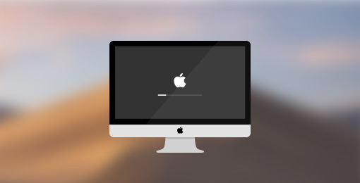 Mac stuck on loading bar
