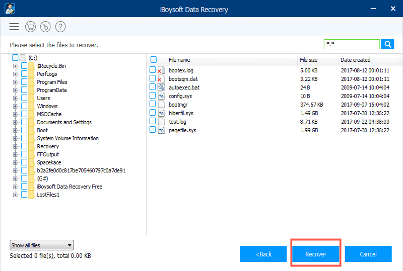 Recover lost data from formatted BitLocker encrypted drive