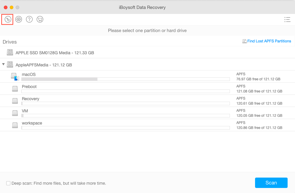 Activate iBoysoft Data Recovery for Mac