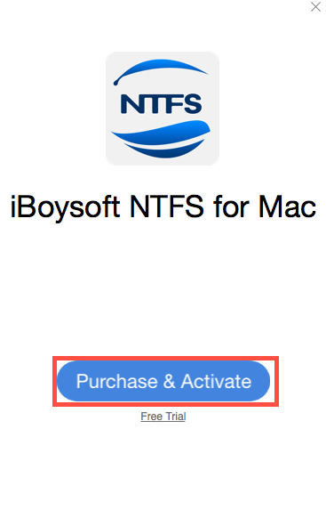 Purchase and Activate iBoysoft NTFS for Mac
