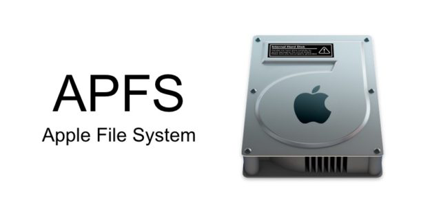 APFS cause problems after macOS update