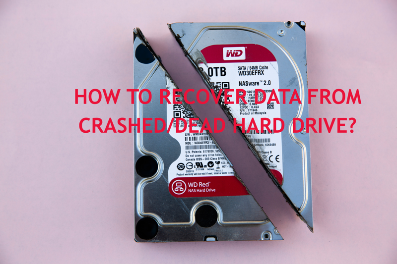 How to recover lost data from crashed/dead hard disk?