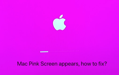Fix the Mac pink screen issue