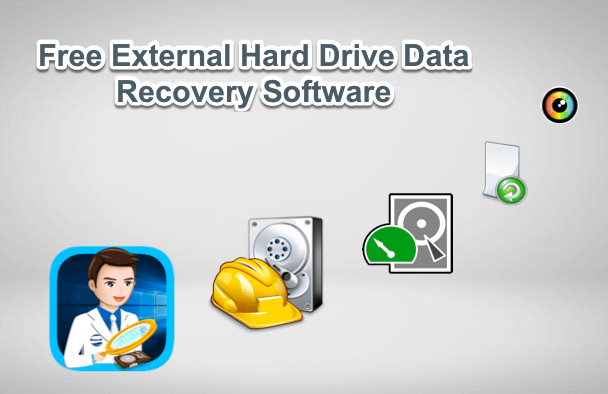 Free external hard drive data recovery software