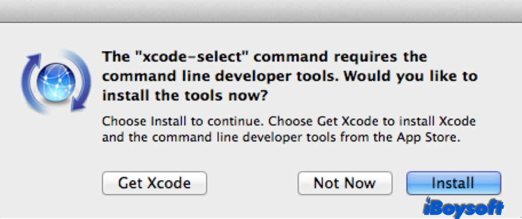 Install Xcode on Mac before writing to NTFS drives on Mac