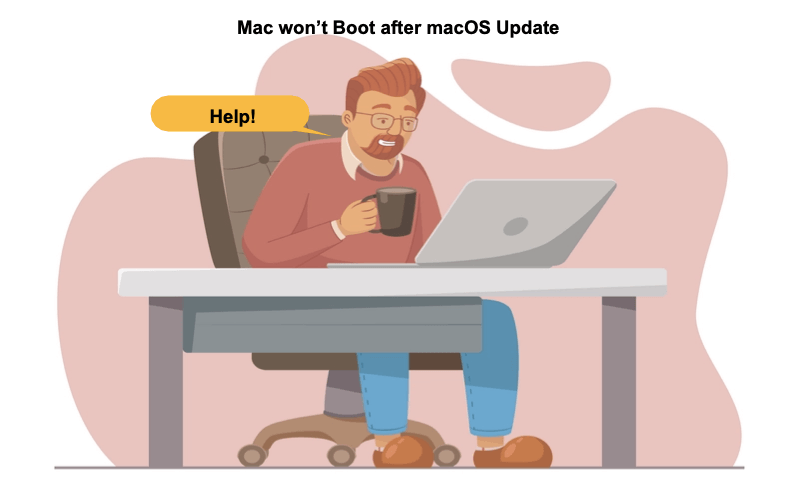 mac wont boot after macOS update
