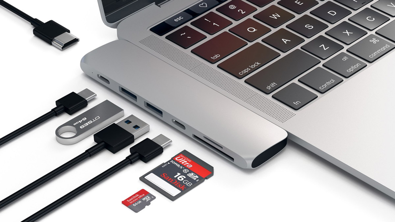 Show Thunderbolt external hard drives for Mac on MacBook Air