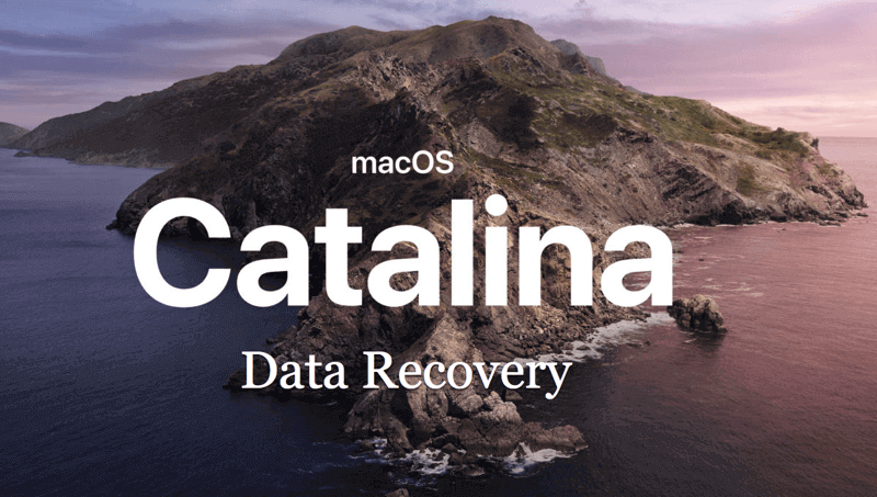 Data recovery for macOS 10.15 Catalina