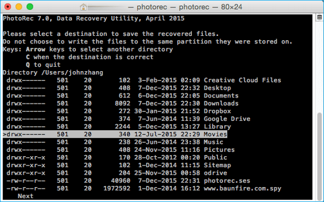 PhotoRec Data Recovery
