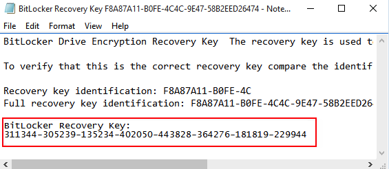 Recover lost data from BitLocker encrypted drive