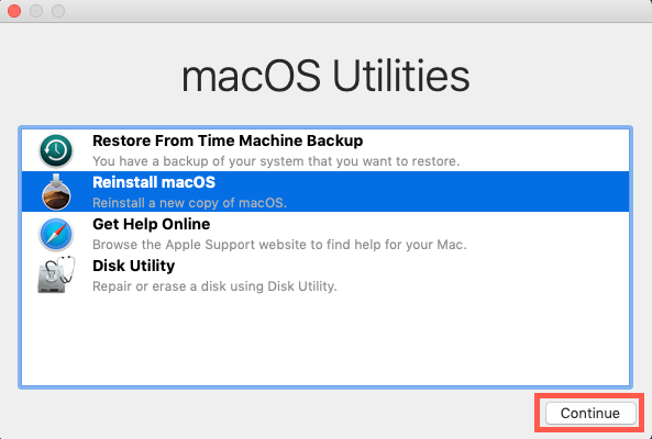 Downgrade macOS Catalina to macOS Mojave