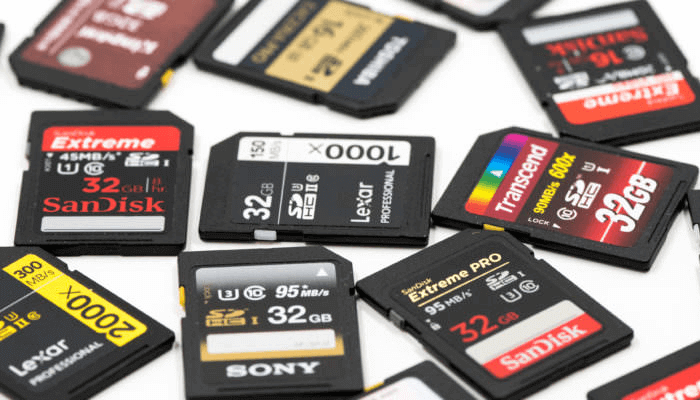 What is an SD card