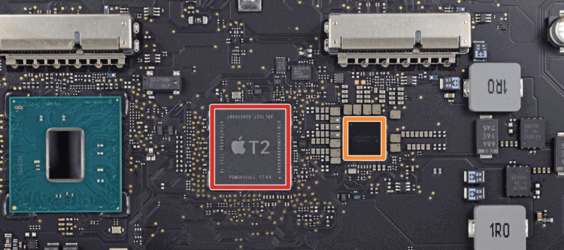 appple's T2 security chip